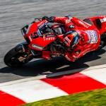 Petrucci 5º y Dovizioso 8º con el equipo Mission Winnow Ducati en los test de Sepang