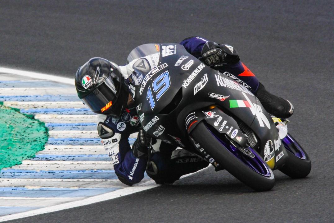 Gabriel Rodrigo, Test Jerez