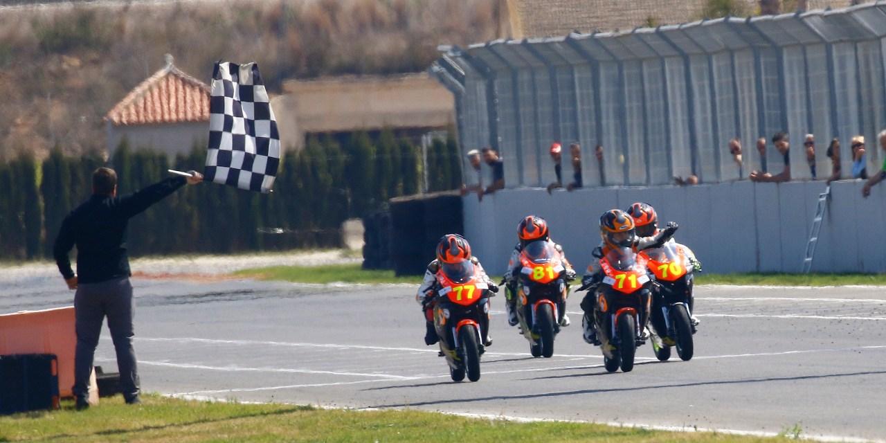 Cinco ganadores en la primera prueba de la Cuna de Campeones en La Ribera