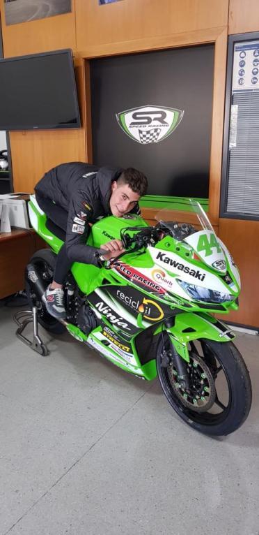 Miguel Román, Team Speed Racing