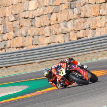 Chaz Davies, Circuito de Motorland Aragón, WSBK
