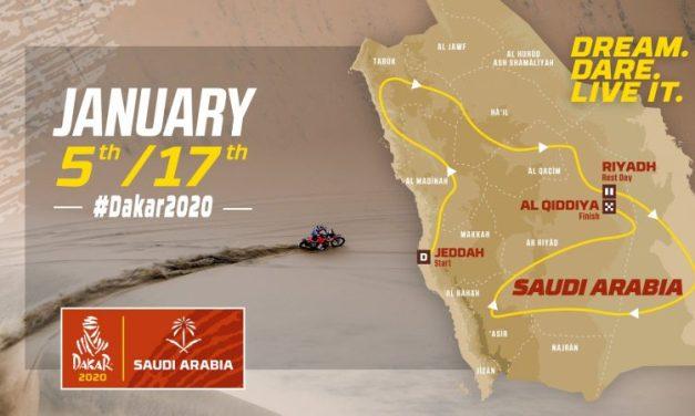 El Monster Energy Honda, con el Dakar 2020 en Arabia Saudita