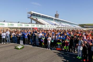 Circuito de Jerez Ángel Nieto, Minuto de silencio por los fallecidos