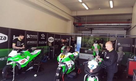 Fran Alonso, listo para la primera carrera del ESBK de Superbike