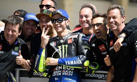 Brillante segunda plaza para Valentino Rossi en Circuito de Las Américas