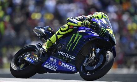 Rossi y Maverick llegan a Jerez
