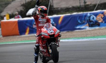 Ducati: segunda fila para Dovizioso, cuarto en el clasificatorio de Jerez, séptima plaza para Petrucci