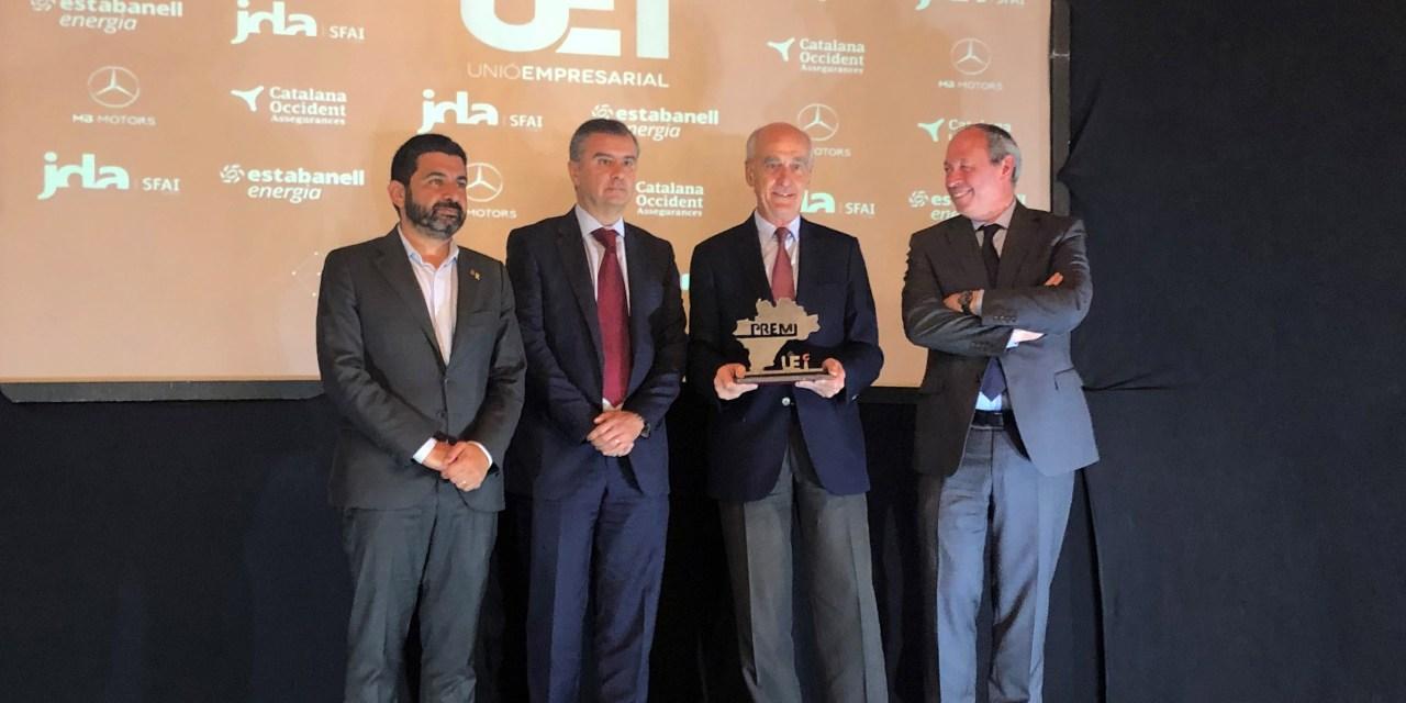 El Circuit recibe el 'Premio a la Implicación en el Territorio' de la UEI-CERCLEM