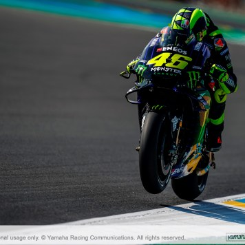 Valentino Rossi, Monster Energy Yamaha MotoGP, Circuito de Le Mans