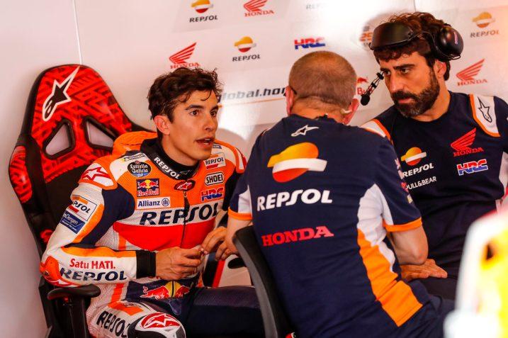 Marc Márquez, Repsol Honda, Test post Montmeló