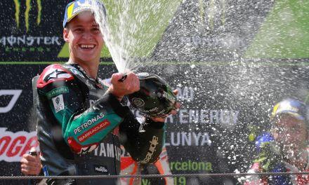 Fabio Quartararo: «El GP catalán fue el fin de semana perfecto»