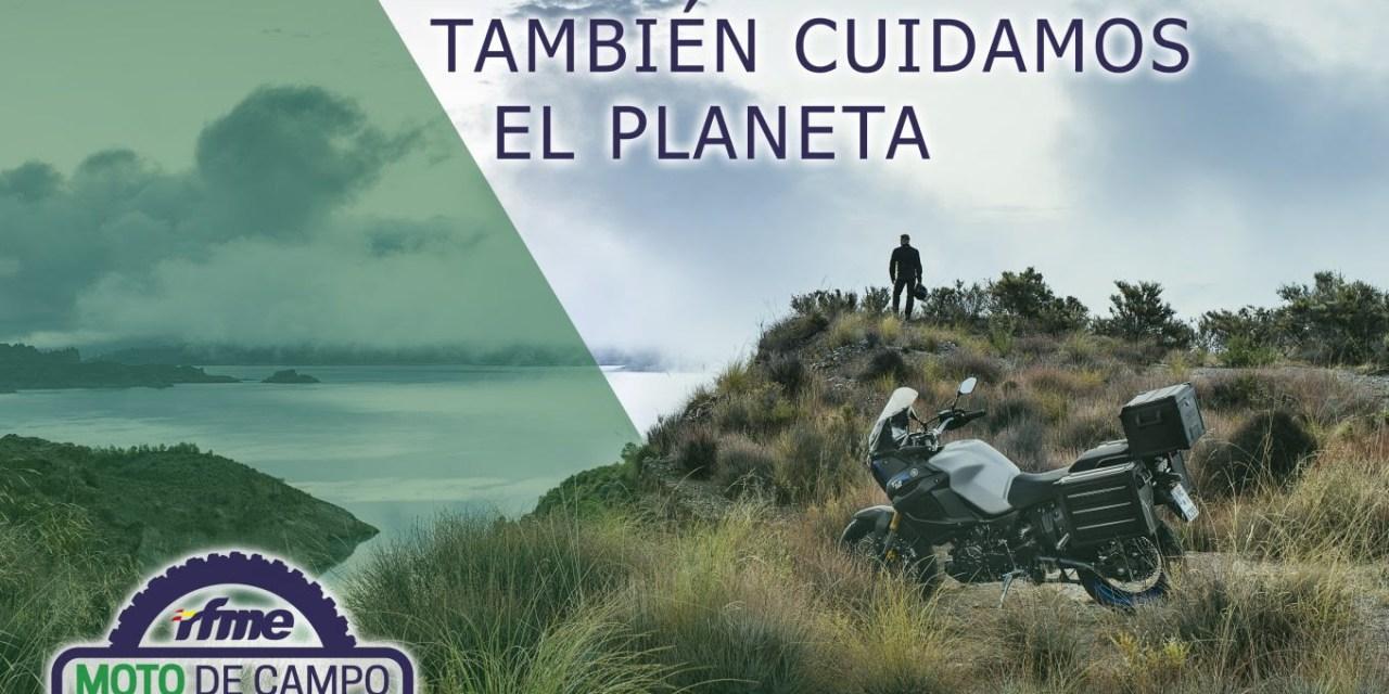 En moto también cuidamos el planeta