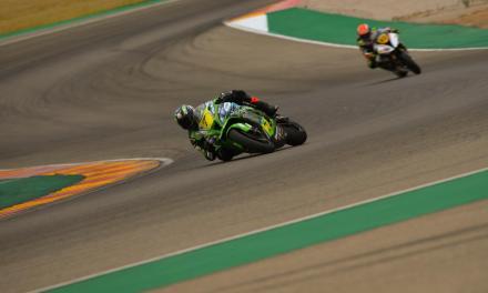 Poles de Gutiérrez, Scheib, Orradre y Sola en el arranque del Campeonato de España Cetelem  de Superbike en MotorLand