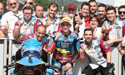 Sensacional y peleada Pole de Márquez en Sachsenring