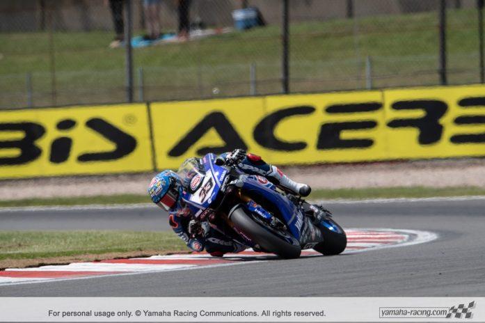 Marco Melandri, Yamaha Racing, WSBK