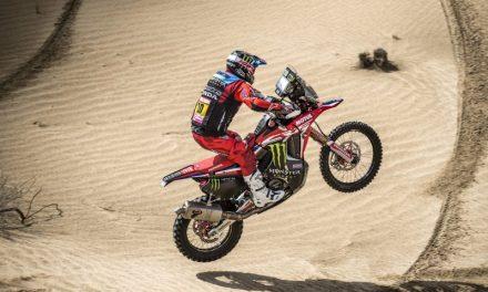 El Monster Energy Honda Team al completo, preparados para competir en el Atacama Rally