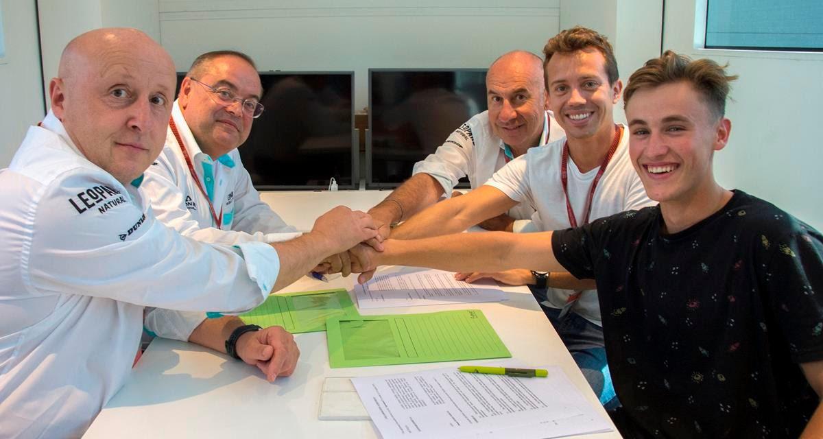Leopard Racing cierra filas para 2020 con Jaume Masiá y Dennis Foggia