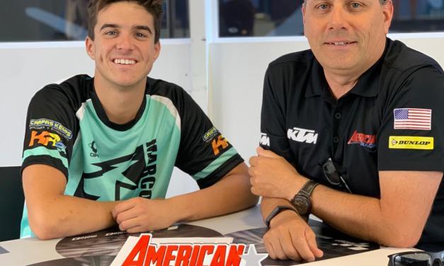 Marcos Ramírez se une al equipo de carreras de Estados Unidos en 2020