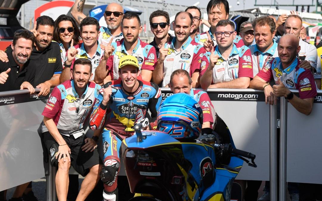 Alex Márquez se lleva una 'Pole' de récord en Silverstone