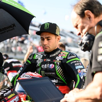 Kawasaki Racing Team, Leon Haslam,