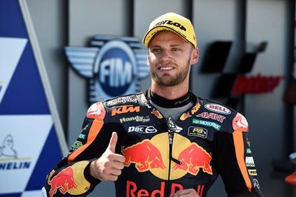 Motorland Aragón ve ganar al sudafricano Brad Binder en Moto2