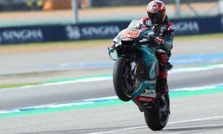 Fabio Quartararo fenomenal con la cuarta pole en el GP de Tailandia