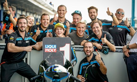 Pole position para Celestino Vietti (Sky Racing Team VR46) en Buriram