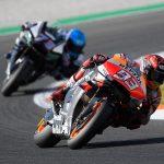 El equipo Repsol Honda, satisfecho con un productivo test en Valencia