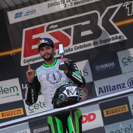Maxi Scheib, Kawasaki Palmeto PL Racing Team, Campeonato de España de Velocidad, RFME, Circuito de Jerez