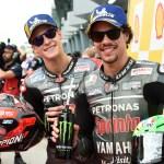 Fabio Quartararo y Franco Morbidelli brillan en casa de Petronas con la pole y tercer puesto
