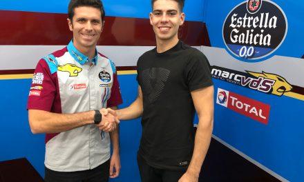 Augusto Fernández se incorpora al Team Estrella Galicia 0,0 Marc VDS para 2020