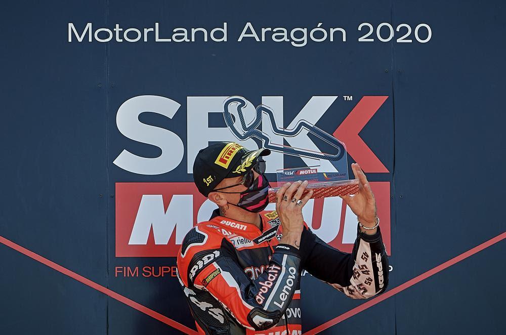 Scott Redding, Circuito de Motorland Aragón, WSBK