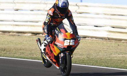 Fernández lidera la jornada inaugural del GP de San Marino en Moto3