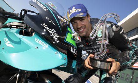 El maestro Morbidelli se lleva la primera victoria de MotoGP en casa