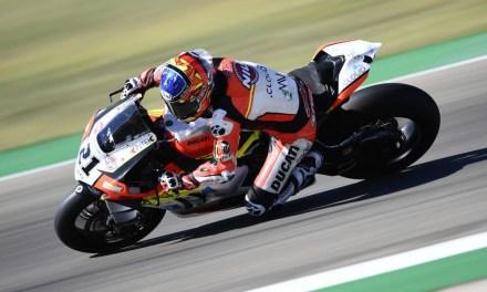 Rinaldi marca el ritmo en la primera jornada del round de Teruel del Campeonato del Mundo de Superbikes