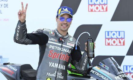 Victoria para Franco Morbidelli y Yamaha en Motorland. Mir más líder.