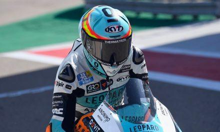 Victoria brillante de Jaume Masiá en Moto3, podio para Raúl Fernández