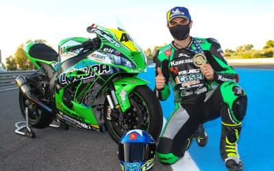 Román Ramos y el Kawasaki Palmeto PL Racing Team Campeones de España de Superbike 2020