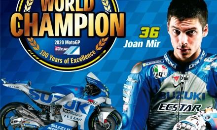 Joan Mir hace historia en el Mundial de MotoGP y con Suzuki, carrera que gana Morbidelli
