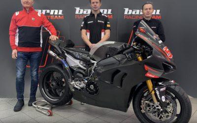 Tito Rabat conducirá la Ducati Panigale V4 R del Barni Racing Team en la temporada 2021 de WorldSBK