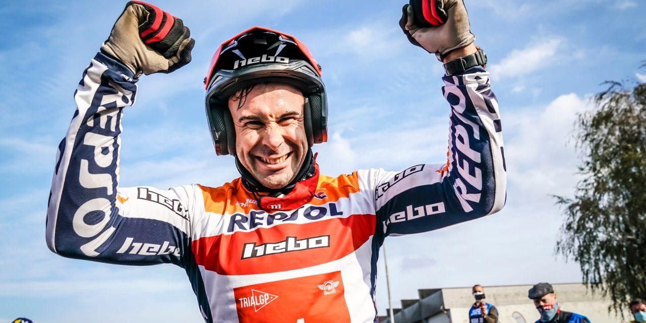 Toni Bou, tres años más con el equipo Repsol Honda
