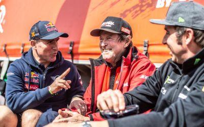 Muere Hubert Auriol, ex director y campeón del Rally Dakar