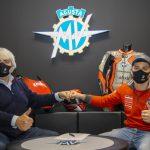 TOMMASO MARCON JUNTO A CORSI Y BALDASSARRI EN 2021 CON MV AGUSTA FORWARD RACING TEAM