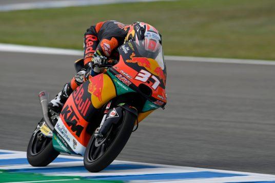 Pedro Acosta, Moto3, Spanish MotoGP, 30 April 2021