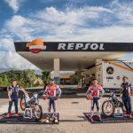El equipo Repsol Honda, listo para el inicio del Mundial de TrialGP 2021en Italia