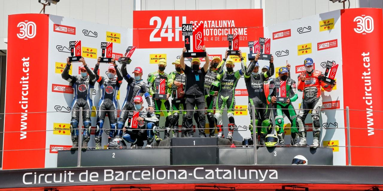 Kawasaki Català Aclam suma la octava victoria de las 24 Horas de Catalunya de Motociclismo