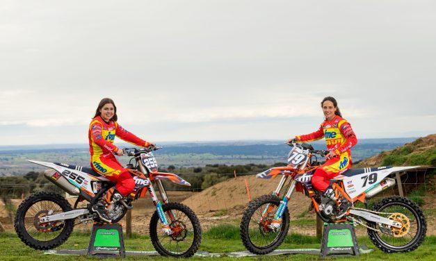Se presenta la Selección Española Femenina de Motocross para el Mundial