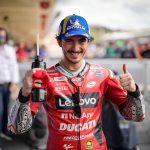 GP de las Américas: Bagnaia logra su tercera pole position consecutiva en MotoGP. Décima posición para Miller