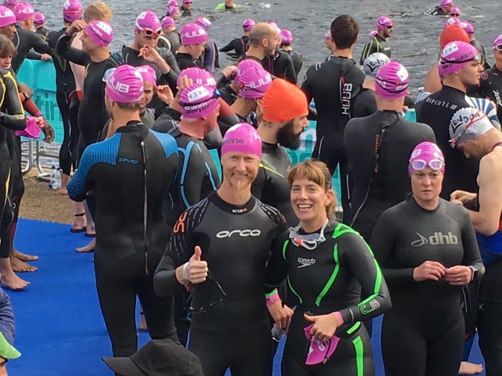 Swim Serpentine Starting Line 2017