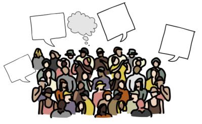 Mange prater og tenker